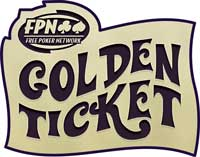 Golden Ticket poker league promotion from Free Poker Network