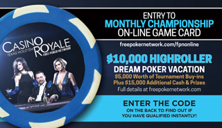 FPN Casino Royale Highroller Gamecard