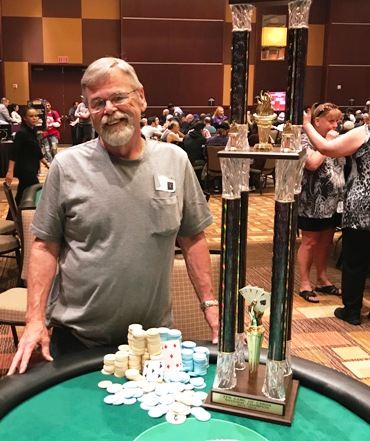 Garry Merrinette wins Free Poker Network's
