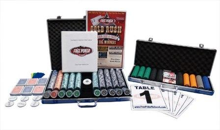 Complete poker league setup package